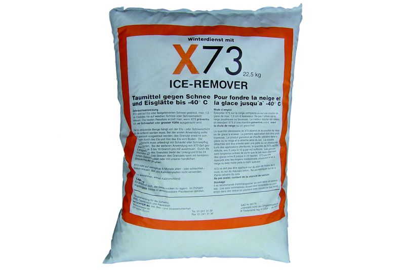 streumittel x73 ice remover peter hefti ag. Black Bedroom Furniture Sets. Home Design Ideas